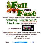 Fall Fest in the Woods Tomorrow!